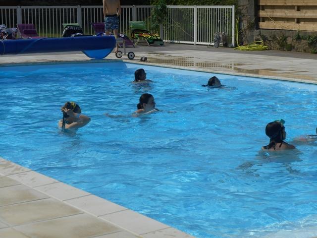 Vacances avec piscine chauffée en Finistère : location de gite piscine Finistere à Trouzilit