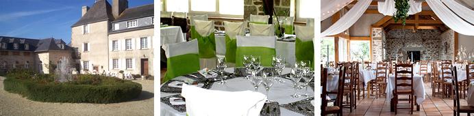 Réception Bretagne en Manoir à Trouzilit